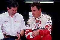1991 British Touring Car Championship. John Cleland with Dave Cook.