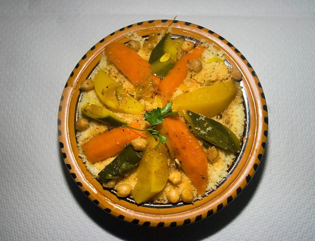Vegetable Platter, L'Avenir Restaurant, Paris, France, Europe