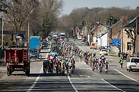 peloton<br /> <br /> 53rd Le Samyn 2021<br /> ME (1.1)<br /> 1 day race from Quaregnon to Dour (BEL/205km)<br /> <br /> ©kramon