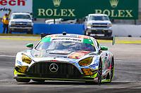 #28  ALEGRA MOTORSPORTS(USA) MERCEDES-AMG GT3 GTD - DANIEL MORAD (CAN) MICHAEL DE QUESADA (USA) BILLY JOHNSON (USA)