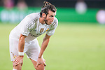 Gareth Bale of Real Madrid CF reacts during the FC Internazionale Milano vs Real Madrid  as part of the International Champions Cup 2015 at the Tianhe Sports Centre on 27 July 2015 in Guangzhou, China. Photo by Hendrik Frank / Power Sport Images