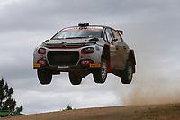 5th June 2021; Monte Acuto, Sardinia; WRC rally of Italia Sardinia; Yohan Rossel-Citroen C3 WRC2