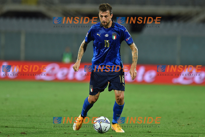 Francesco Acerbi of Italy during the Uefa Nation League Group Stage A1 football match between Italy and Bosnia at Artemio Franchi Stadium in Firenze (Italy), September, 4, 2020. Photo Massimo Insabato / Insidefoto