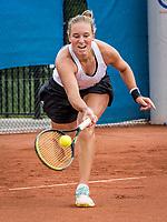 Amstelveen, Netherlands, 5  Juli, 2021, National Tennis Center, NTC, Amstelveen Womans Open, Anouk Koevermans (NED)<br /> Photo: Henk Koster/tennisimages.com