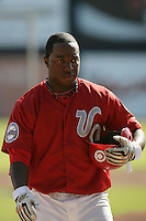 July 11 2009: Rodney Rutherford of the Vancouver Canadians before game against the Boise Hawks at Nat Bailey Stadium in Vancouver,BC..Photo by Larry Goren/Four Seam Images