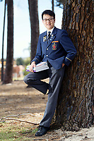Albert Smith, 15, is the youngest year 12 sitting six ATAR exams this year. photo by Trevor Collens