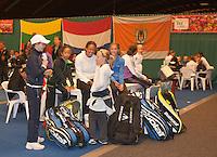 08-08-11, Tennis, Hillegom, Nationale Jeugd Kampioenschappen, NJK, Wachten in de hal