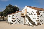 Spain, Canary Islands, La Palma, Las Tricias: residential building