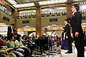 Annual choir performance of Beethoven's Symphony No.9 inside Mitsukoshi department store