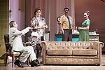 """Juan Diego, Ana Marzoa, Jose Luis Patiño and Marta Molina during theater play of """"Una gata sobre un tejado de Cinc caliente"""" at Reina Victoria theater in Madrid, Spain. March 15, 2017. (ALTERPHOTOS/BorjaB.Hojas)"""
