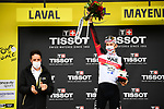 Tadej Pogacar (SLO) UAE Team Emirates wins Stage 5 of the 2021 Tour de France, an individual time trial running 27.2km from Change to Laval, France. 30th June 2021.  <br /> Picture: A.S.O./Pauline Ballet | Cyclefile<br /> <br /> All photos usage must carry mandatory copyright credit (© Cyclefile | A.S.O./Pauline Ballet)