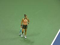 10th September 2021: Billie Jean King Centre, New York, USA: USA Open tennis championships, womens singles semi-final Emma Raducanu versus Maria Sakkari: Sakkari looks on perplexed as she goes behind