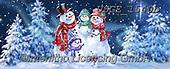 Dona Gelsinger, CHRISTMAS SANTA, SNOWMAN, WEIHNACHTSMÄNNER, SCHNEEMÄNNER, PAPÁ NOEL, MUÑECOS DE NIEVE, paintings+++++,USGE1540B,#x#
