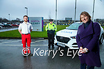 Tom White, Kerry Red Cross, Garda Cathy Murphy and Geraldine O'Sullivan, Kerry Volunteer Centre