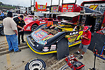 Sep 9, 2011; 11:33:46 AM; Rossburg, OH., USA; The 41st annual running of the World 100 Dirt Late Models racing for the Globe trophy at the Eldora Speedway.  Mandatory Credit: (thesportswire.net)