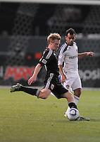 DC United midfielder Dax McCarty (10).    DC United tied  Los Angeles Galaxy 1-1, at RFK Stadium, Saturday April 9, 2011.