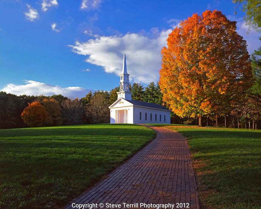 USA, Massachusetts, Martha-Mary Chapel located in Sudbury