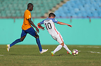 St. Vincent and the Grenadines - September 2, 2016: The U.S. Men's National team take a 5-0 lead over St. Vincent and the Grenadines with Christian Pulisic contributing a goal in a World Cup Qualifier (WCQ) match at Arnos Vale Stadium.