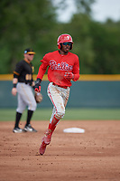 Philadelphia Phillies Corbin Williams (4) during a minor league Spring Training game against the Pittsburgh Pirates on March 13, 2019 at Pirate City in Bradenton, Florida.  (Mike Janes/Four Seam Images)