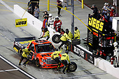 NASCAR Camping World Truck Series <br /> Lucas Oil 150<br /> Phoenix Raceway, Avondale, AZ USA<br /> Friday 10 November 2017<br /> Cody Coughlin, JEGS Toyota Tundra, pit stop<br /> World Copyright: Michael L. Levitt<br /> LAT Images