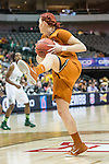 guard Brady Sanders (32) in action during Big 12 women's basketball championship final, Sunday, March 08, 2015 in Dallas, Tex. (Dan Wozniak/TFV Media via AP Images)