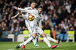 Alvaro Morata of Real Madrid in action during the La Liga match between Real Madrid and RC Deportivo La Coruna at the Santiago Bernabeu Stadium on 10 December 2016 in Madrid, Spain. Photo by Diego Gonzalez Souto / Power Sport Images
