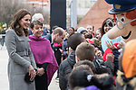 © Joel Goodman - 07973 332324 . 06/12/2017 . Manchester , UK . The Duke And Duchess Of Cambridge, Prince William and Kate Middleton, attend the Children's Global Media Summit at the Manchester Central Convention Centre . Photo credit : Joel Goodman