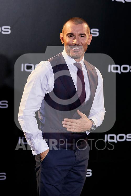 Jesus Vazquez attends to IQOS3 presentation at Palacio de Cibeles in Madrid, Spain. February 13, 2019. (ALTERPHOTOS/A. Perez Meca)