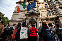 """20.08.2014 - """"#repealthe8th Protest"""" In London"""