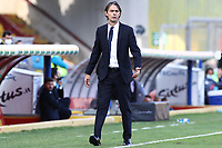 Filippo Inzaghi coach of Benevento Calcio<br /> during the Serie A football match between Benevento Calcio and SSC Napoli at stadio Ciro Vigorito in Benevento (Italy), October 25th, 2020. <br /> Photo Cesare Purini / Insidefoto