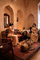 'Ottoman women' at the Sakip Sabanci Museum, Mardin, southeastern Turkey
