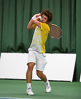 18-01-14,Netherlands, Rotterdam,  TC Victoria, Wildcard Tournament, , Sebastiaan Bonapart (NED)<br /> Photo: Henk Koster