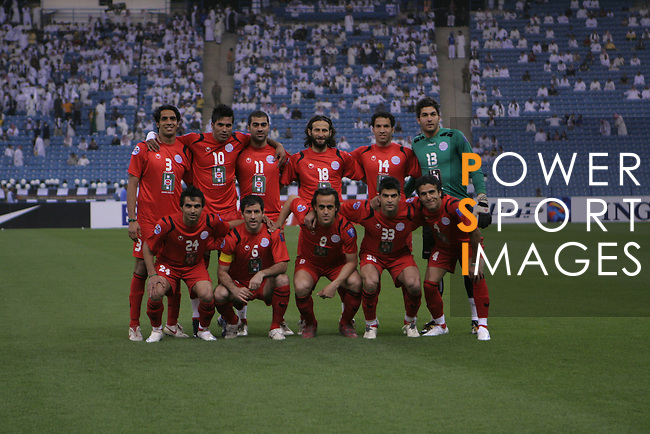 Al-Shabab vs Persepolis during the 2009 AFC Champions League Group B match on March 17, 2009 at the King Fahd Stadium, Riyadh. Photo by World Sport Group