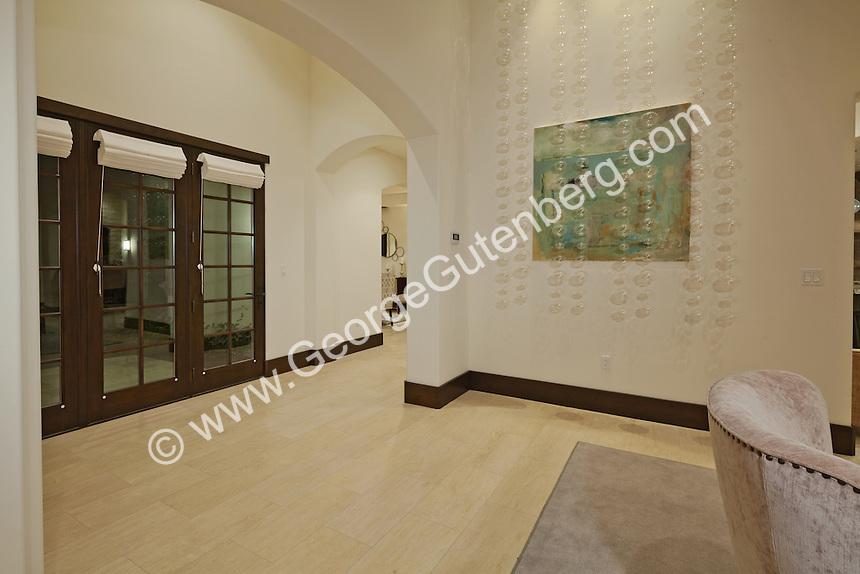 Dranatic entry and foyer