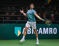 Rotterdam, The Netherlands, 11 Februari 2019, ABNAMRO World Tennis Tournament, Ahoy, first round doubles:  Fernando Verdasco (ESP) <br /> Photo: www.tennisimages.com/Henk Koster