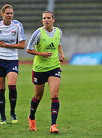 Football Club Feminin Juvisy Essonne - Olympique Lyon :.Lara Dickenmann.foto DAVID CATRY / JOKE VUYLSTEKE / Vrouwenteam.be