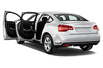 Rear three quarter door view of a 2010 Citroen C5 Confort 4 Door Sedan 2WD