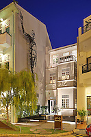 """An outside view of Andre's Restaurant built in a traditional """"colonial""""s style building in Singapore 13 March 2015."""