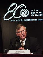 Les assises  de l'Union des Municipalitees du Quebec<br /> , du 6 au 8 mai 1999, au Palais des Congres -<br /> Jean Perreault<br /> <br /> <br /> PHOTO : Agence Quebec Presse