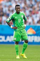 Ogenyi Onazi of Nigeria looks dejected