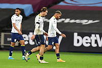 Jack Grealish of Aston Villa At the Final Whistle during West Ham United vs Aston Villa, Premier League Football at The London Stadium on 30th November 2020