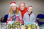 Linda Butler, Patrick and Christopher Knightley at the St Johns Christmas Fair in Teach an tSolais on Saturday morning.