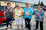 Ready for Drive In bingo in Castleisland on Saturday, l to r: Noreen Ashe (Castlemaine), Helen Ashton (KIllarney), Linda Moriarty (Tralee) and Christine Regan (Castlemaine).