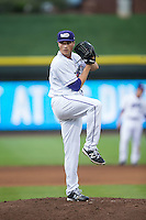 Winston-Salem Dash starting pitcher Blair Walters (30) in action against the Myrtle Beach Pelicans at BB&T Ballpark on May 2, 2016 in Winston-Salem, North Carolina.  The Pelicans defeated the Dash 3-2 in 11 innings.  (Brian Westerholt/Four Seam Images)