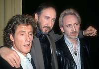 The Who #Roger Daltrey #Pete Townsend John Entwistle 1989<br /> Photo By Adam Scull/PHOTOlink.net