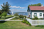 Lighthouse and keeper's home, Browns Point Park, Tacoma Parks,