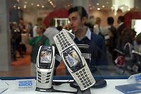 - SMAU, international exibition of electronics, computer science and technological innovation, video telephone Nokia..- SMAU, salone internazionale dell'elettronica, informatica e innovazione tecnologica, videotelefono Nokia