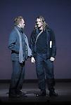 WELCOME TO THE VOICE - Steve Nieve..Théâtre du Chatelet - Paris..15 november 2008....Dionysos - Sting..Dionysos 's friend - Joe Sumner....Credit : Laurent PAILLIER / ArenaPAL