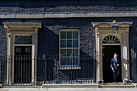 Pictured: Alexis Tsipras exits 10 Downing Street after he met UK Prime Minister Theresa May in London, UK. Tuesday 26 June 2018<br /> Re: Greek Prime Minister Alexis Tsipras is on a three day visit to London, UK.