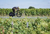 Sepp Kuss (USA/Jumbo-Visma)<br /> <br /> Stage 20 (ITT) from Libourne to Saint-Émilion (30.8km)<br /> 108th Tour de France 2021 (2.UWT)<br /> <br /> ©kramon
